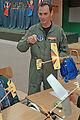 U.S., Chilean airmen visit school