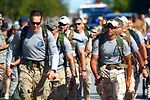 Brothers in arms march for cause