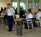 Air Force Reserve Band spreads goodwill