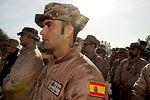 Airmen bid farewell to Spanish forces at Transit Center at Manas