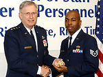Air Staff badge debuts at Pentagon ceremony