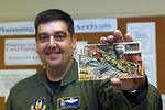 Pilot combines love of stamps, aviation to celebrate Air Force Anniversary