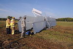 Wright Flyer replica crashes