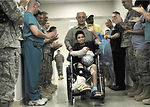 Air Force medics release 14-year-old mortar attack survivor after weeks of treatment
