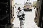 Airmen help Iraqi army take control of base operations
