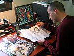 Major writes for comic book