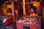 Butcher shop in Paris, France.
