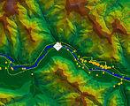 Map of Alberton, Montana US Chlorine Spill Investi