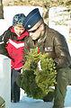 Volunteers honor veterans with wreaths