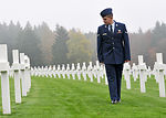 Airmen honor the fallen