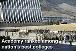 Academy ranked among nation's best colleges