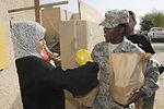 Airmen build ties with Iraqi families