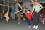 Children, parents get fit together