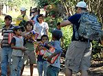 Hikers continue delivering food to Hondurans