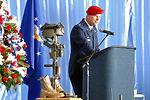 Pope officials remember fallen Airman