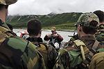 Navy SEALs train during Northern Edge 2009