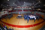Airmen judge junior ROTC drill competition
