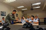 Japanese NCOs visit Kadena