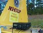 Airman flies to Dog Island to test radio communication