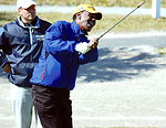 Tee time brings military, NFL together