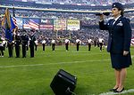 Air Force participates in Veterans Day tribute at Redskins' game