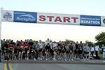 AF officials announce marathon results