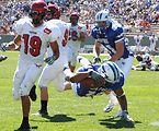 Falcon football fury