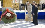 Manas Air Base hosts Kyrgyz president