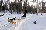 Medicine man trains for sled-dog race