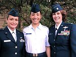 Airman carries on female family tradition