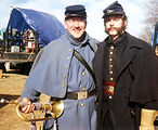 Bandsman supports 'Gods and Generals'