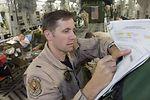 Flight nurse on medevac duty on Air Force birthday