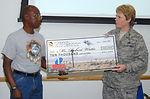 Civilian receives $10,000 for canopy repair 'IDEA'