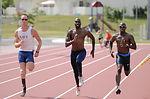Paralympic athletes train at Kadena