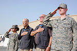 Medal of Honor recipients visit Airmen in Southwest Asia