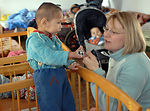 Manas Airmen make memorable bonds with Kyrgyz children