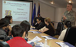 Kyrgyz students get insiders' glimpse of Manas mission