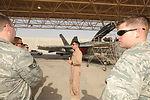 379th AEW hosts navy F/A-18s