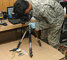 American servicemembers provide battlefield forensics