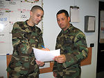 Serving through the season: Staff Sgt. Fredric Rosario