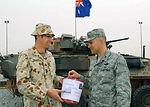 386th Airman contribute to Victoria Wildfire relief