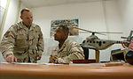 Airmen advise Djiboutian air traffic controllers