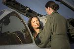 Airmen onboard Terminator Salvation