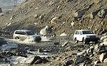 American servicemembers visit Afghan villagers