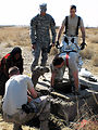 Air Force Firefighters Rescue Baby Camel Trapped in Manhole
