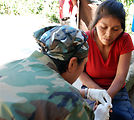 Medical team hikes into Honduran mountains to care for children