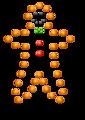 Gingerbread Man in Lights
