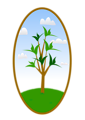 Oval Tree Landscape