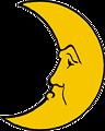 Heraldic crescent