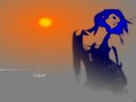 Sun GiRL Wallpaper